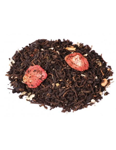 Pu Erh frutos del bosque natural